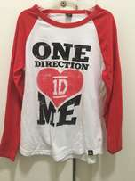 One Direction T-shirt from New York One Direction store.
