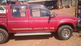 Nissan Datsun pickup double cabin for sell