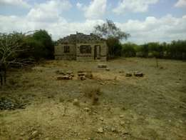Quick sale - plot with incomplete house on sale in Juja Farm Centre