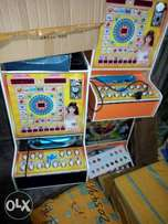 Durable lotto and all prize coin slot machines