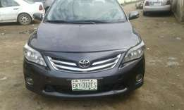 Toyota corolla 2010 model tomb start just a year uesd for fast sell