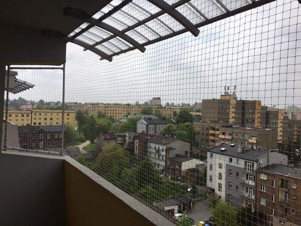 Siatka Dla Kota Na Balkon Okno Montaż Zabezpieczenie