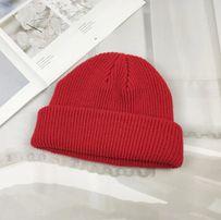 Короткая шапка до ушей Beanie бини скейтерская 0192b94abb3f7