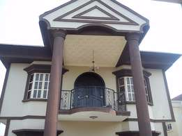 Fully Furnished 4 bedroom detached duplex with BQ , a paint house and