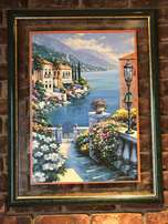 Beautiful, Large Print and Frame