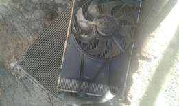 Ford focus radiator and fan