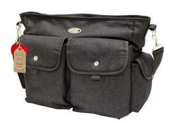 LittleCo - Nappy Bag - Black Denim Retails: R400 OUR Price: R280