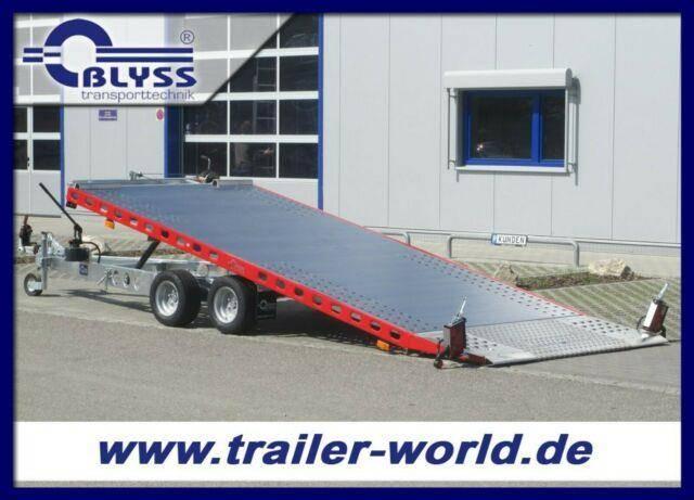Blyss Fahrzeugtransporter 460x203cm Anhänger 2500kg GG