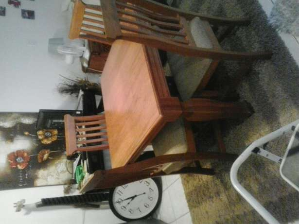 Cherrywood Table and 4 Chairs Jansenpark - image 1