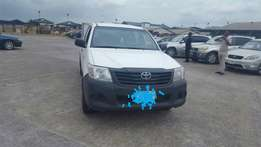 Registered 2013 Toyota Hilux