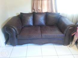 3 months old brown suede couches for sale in Roodepoort