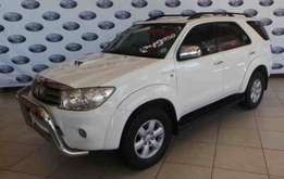 2010 Toyota Fortuner 3.0 D-4D Raised Body,