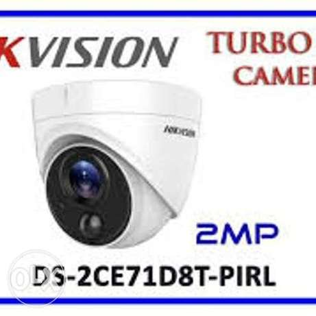HD1080P Turbo 2 MP Ultra-Low Light PIR detection, strobe light alarm D