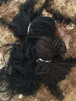 Brand New Synthetic Hair Extensions already braided...ready to wear!!!