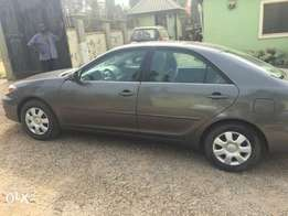 A neatly used Toyota Camry 2004 model for urgent sale