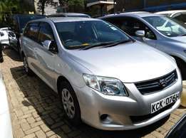 2009 Toyota Fielder with Dark Interior,Dvd Player,1500cc and New Tyres