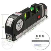 Multipurpose Laser Level Laser Measure Line 8ft+ Measure Tape Ruler Ad