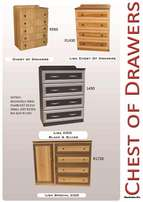 New wood items Chest of drawers and wardrobes