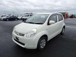 New Shape 2010 Toyota Passo Pearl White