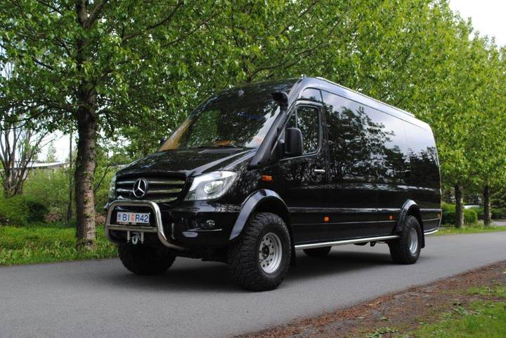 Mercedes-Benz 519 sprinter 4x4 35 tyres Artic Editon - 2018
