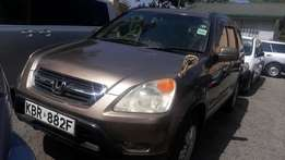 Crv honda very clean leather seats new tyres