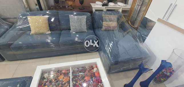 L shape sofa and bed from ikea contact whatsapp please free delivery