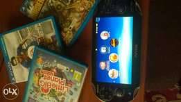 PS VITA slim + 8GB MEMORY + 3 games