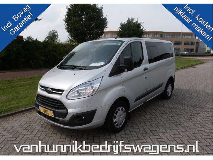 Ford Transit Custom 300s 9-Persoons 125pk Trend Airco Cruise B... - 2016