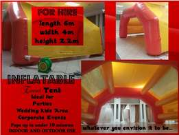 Inflatable Party Area For Hire.