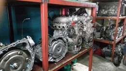 All of engine and gearbox