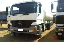 Mercedes Benz Used 2640 Actros Rigid with 18000LT Tank Available