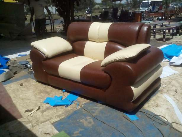 7 seated Sofa of 3-2-2 Nyayo Highrise - image 2