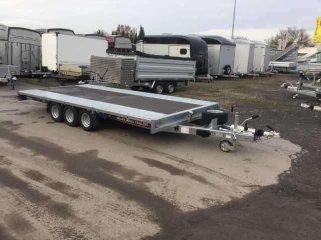 Brian James Trailers Cargo Connect 3 Achs 10 Z Ramp Hochlader