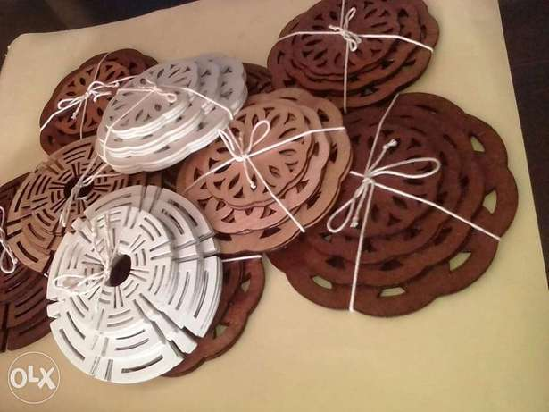 Wooden dish, plate and cup coasters. Nakuru East - image 3