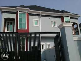 Lovely built 4bedroom duplex with a room bq
