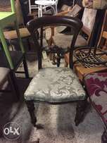 Antique Bustle back chairs various styles ask?