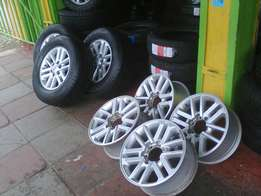Wheels for toyota17""
