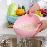Rice and vegetable drainer