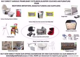 Baby Prams and Baby Cots Direct from Supplier