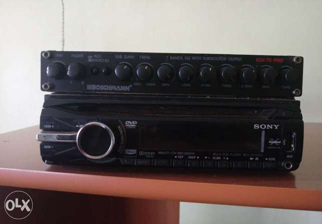 Sony car stereo and equaliser Kiambu Town - image 1