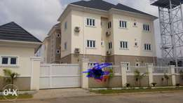Serviced 8units of 3bedroom apartments for rent in Jahi