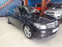 2012 Mercedes-Benz C200 BE AVANTGARDE AUTOMATIC (black)