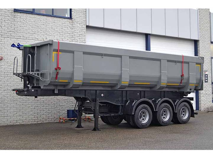 Diversen MITRAX 32T 3 AXLE TIPPER TRAILER 32 M3 (10 units)