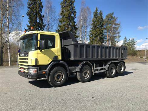 Scania P124 Gb8x2nz 360 - 1999