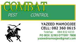 Combat Pest Control Solutions All Areas