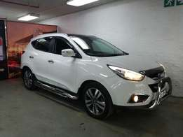 2015 Hyundai IX35 2.0 CRDI Elite manual