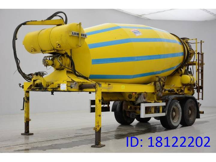 Mueller Mitteltal Mixer 12 m³ - 2002