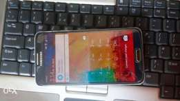 Samsung note 3 with tampered glass