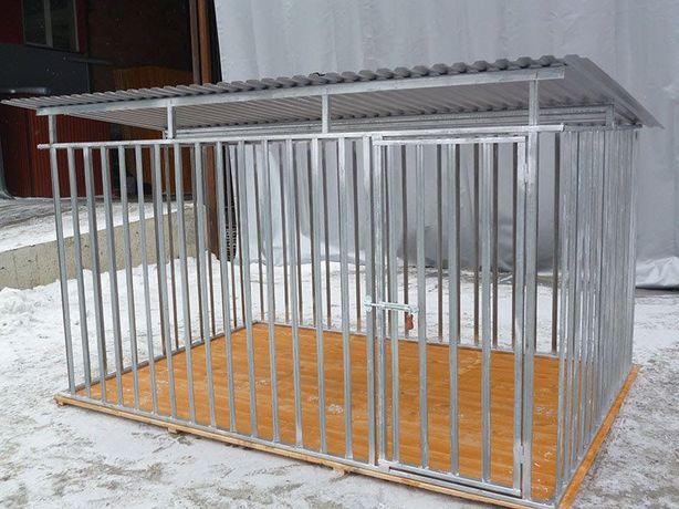 5927c97d68f146 Kojec dla psa MAJA ocynkowany klatka 2x2 kojce dla psów mocne solidne  Żywiec - image 2