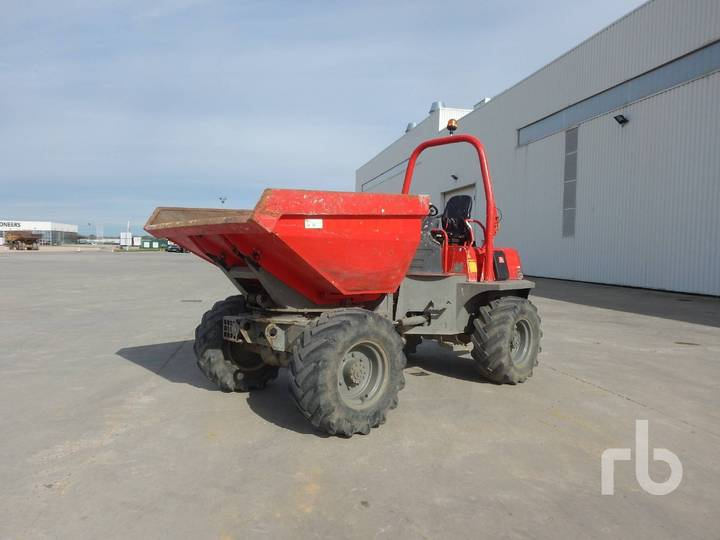 Ausa D600APG 4x4 Swivel - 2009